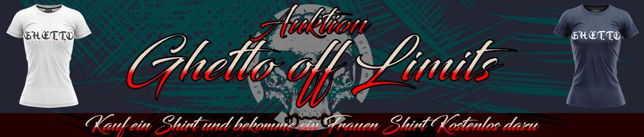 Ghetto Auktion Banner