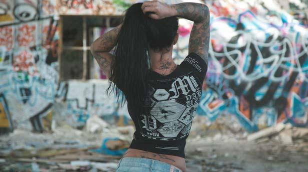 T-Shirt für Frauen - Damen 7Guns