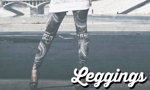 leggings logo banner