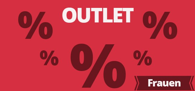 Outlet Bild Banner