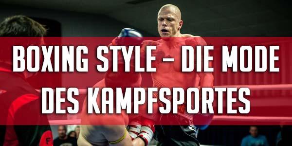 Boxing Style im 7Guns Store