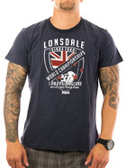 Lonsdale Shirt Shorne 114754 navy