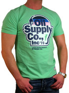 Petrol Industries Herren T-Shirt TS 169 Oil Supply mint XL