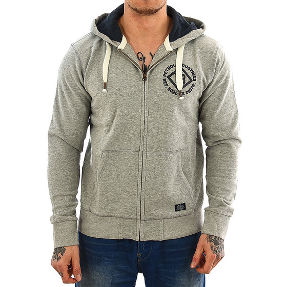 Petrol Industries Sweatjacke SWH 840 grey