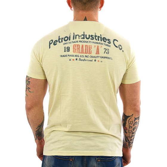 Petrol Industries Shirt TSR 624 vanilla