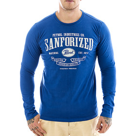 Petrol Industries Longsleeve TLR 813 blue L