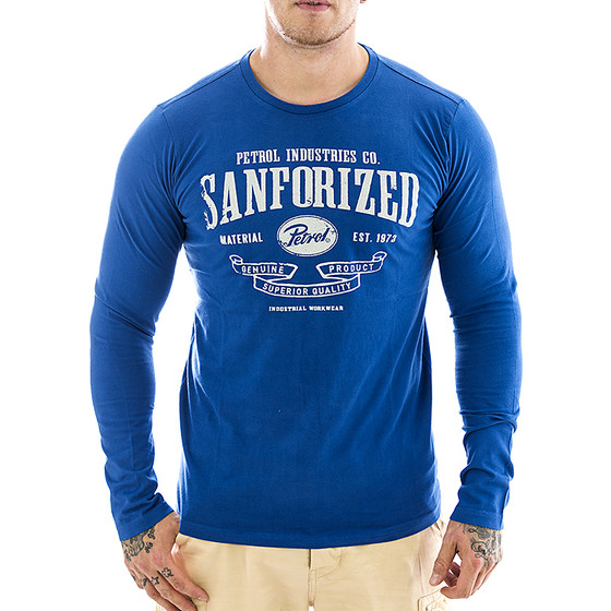 Petrol Industries Longsleeve TLR 813 blue 1