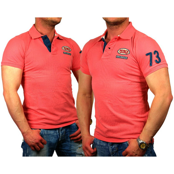 Petrol Industries Herren Polo Shirt PL 20 Flamingo L