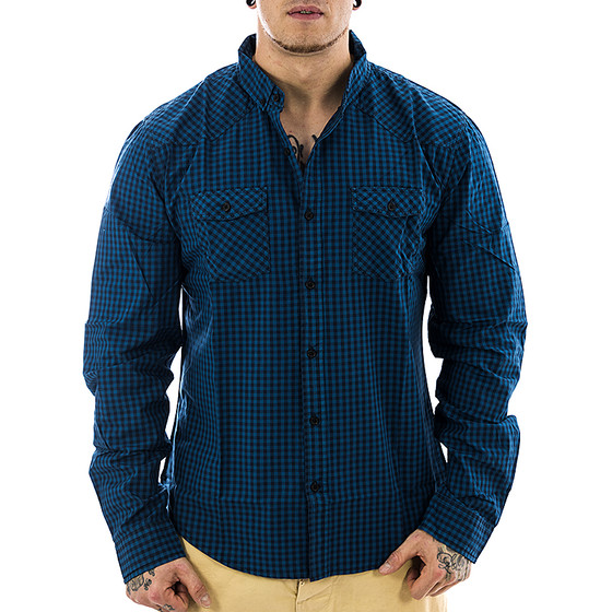 Smith & Jones Premium Hemd 895 blue S
