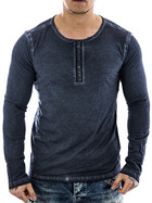 Urban Surface Longsleeve 20363 middle blue S