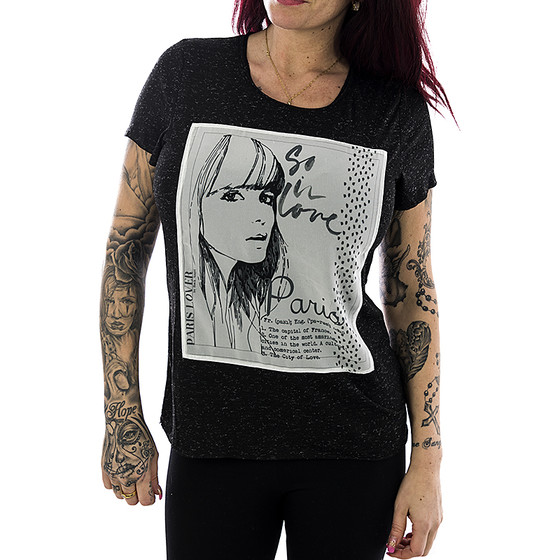 Rock Angel Frauen Shirt 1608 dark grey S