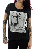 Rock Angel Frauen Shirt 1608 dark grey L