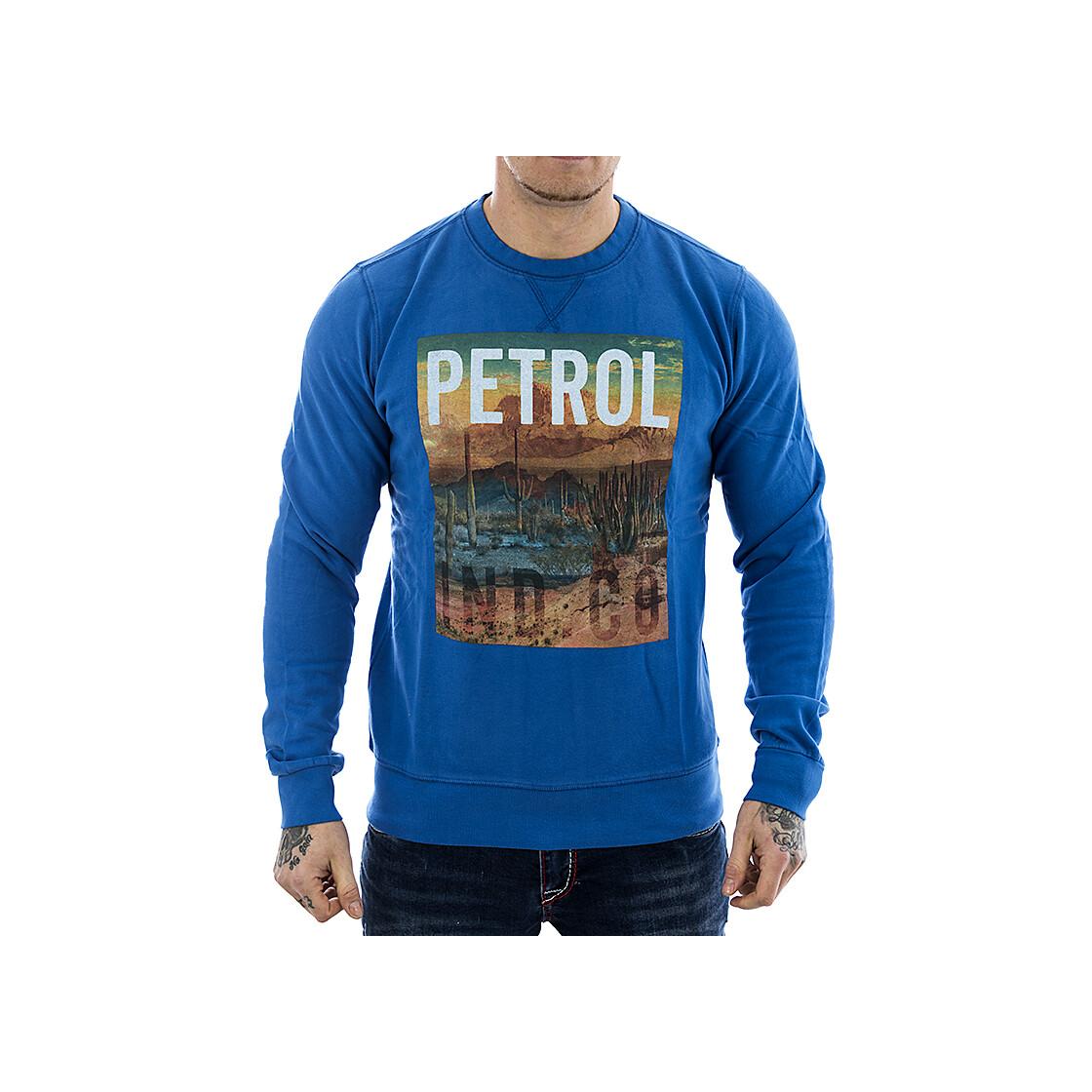 petrol industries sweatshirt swr 859 blau. Black Bedroom Furniture Sets. Home Design Ideas