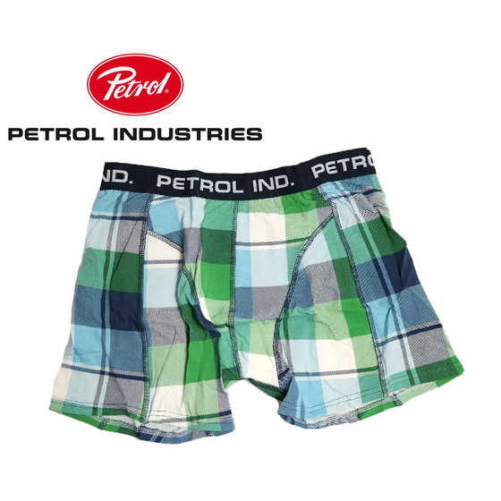 Petrol Industries Herren Boxershort 0314-663 bright green S
