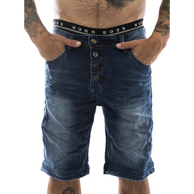 Sky Rebel Sweatjeans Short 1104 blau W29
