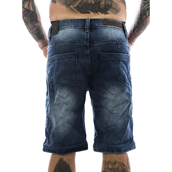 Sky Rebel Jogg Jeans Short 1104 blau 2