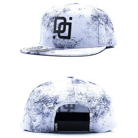 Dangerous DNGRS Snapback Map white weiß