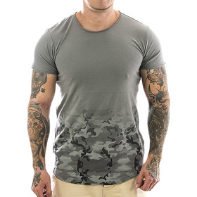 Sublevel T-Shirt 0823 camouflage - middle grey 1