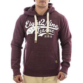 Eight2nine Sweatshirt 0039 dark red 1-1