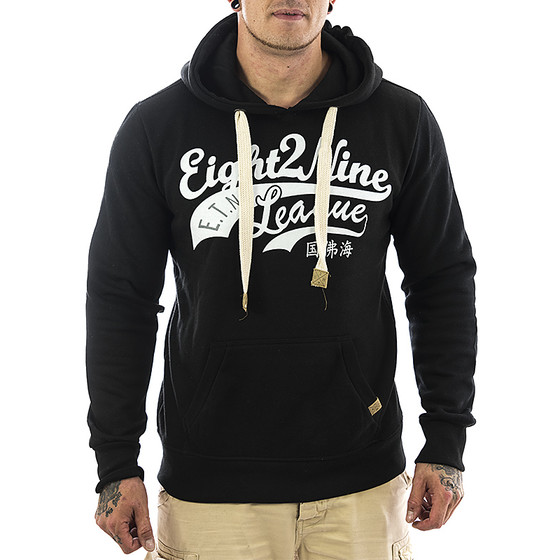 Eight2nine Sweatshirt 0039 schwarz 1