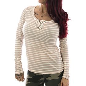 Stitch & Soul Frauen Longsleeve 405 rose 11
