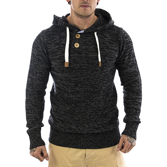Eight2nine Kapuzen Sweatshirt 464 schwarz 1