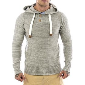 Eight2nine Kapuzen Sweatshirt 464 light grey 1-1