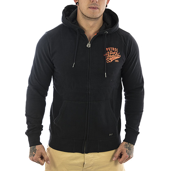 Petrol Industries Sweatjacke SWH 209 black 1