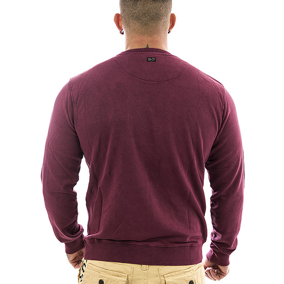 Petrol Industries Sweatshirt SWR 331 burgundy 2