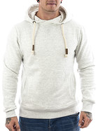Eight2nine Kapuzen Sweatshirt 0370 pastel grey