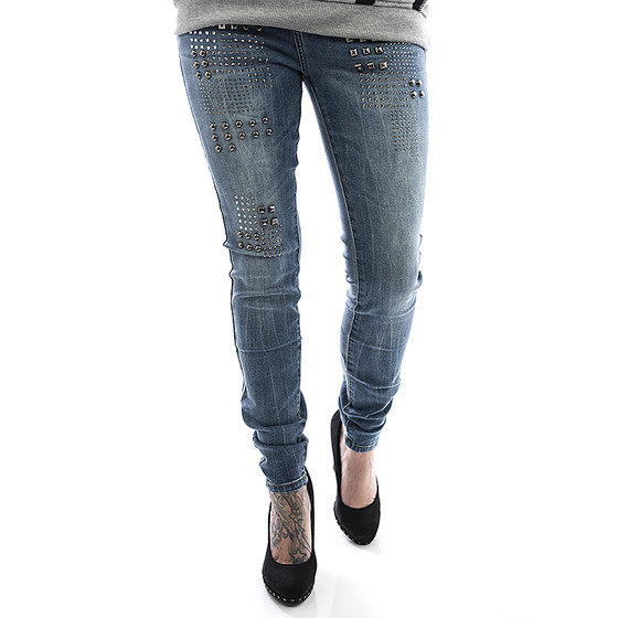Sublevel Frauen Jeans 1644 blau 1