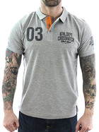 Crosshatch Polo Truman 111054 grey