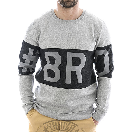 Sublevel Sweatshirt BRO 20821 light grey 1