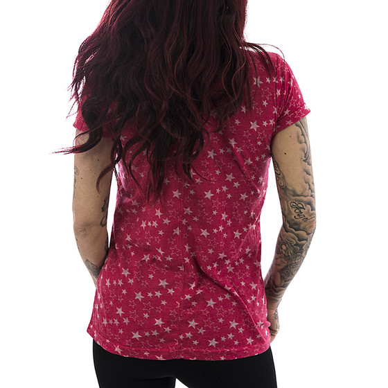 Sublevel T-Shirt Stars 1165 middle pink 2