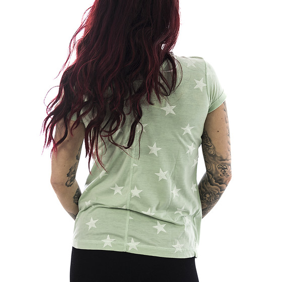 Urban Surface T-Shirt Stars 1165 light green 2