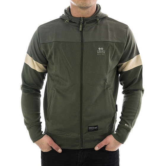 Crosshatch Sweatjacke Turnock 1808 beetle 1