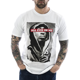 Pelle Pelle T-Shirt All Eyez On Me 321 weiß 1