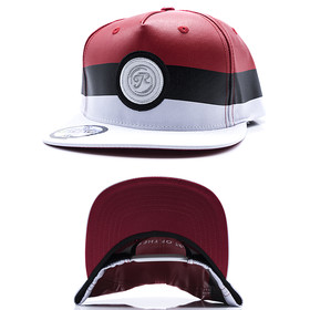 Just Rhyse Snapback JRCP 313 grey-red 1