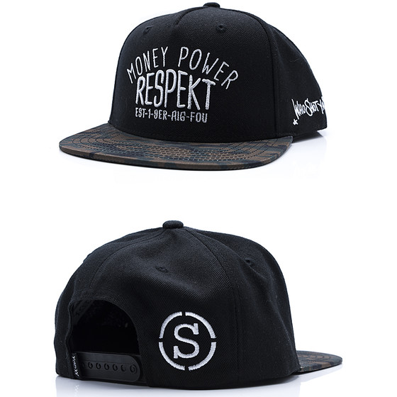 Who Shot Ya? Snapback 117 Respekt black 1-1