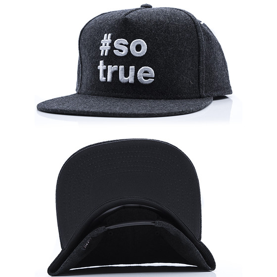 Just Rhyse Snapback 302 dark grey 2