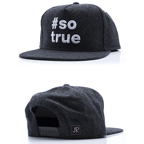Just Rhyse Snapback 302 dark grey 1