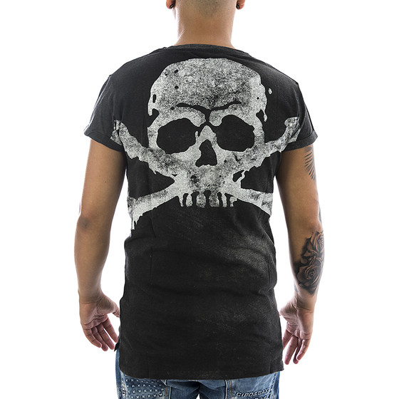 Trueprodigy T-Shirt Skeletor 1082143 anthrazite 22