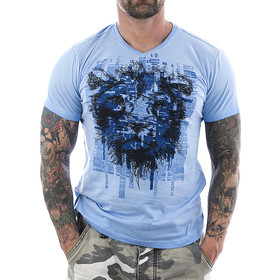 Petrol Industries T-Shirt Lion 615 blau 1
