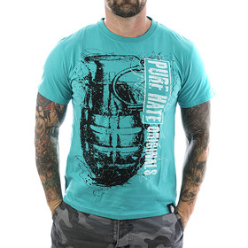 Pure Hate T-Shirt Grenade 0008 turquoise 11