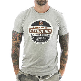 Petrol Industries T-Shirt Union 607 grey 1