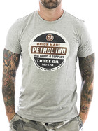 Petrol Industries T-Shirt Union 607 grey M