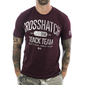 Crosshatch T-Shirt Crosgrove 2568 deep red 11