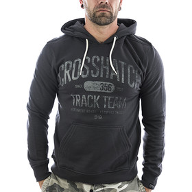 Crosshatch Sweatshirt Vintage 112567 charcoal 1