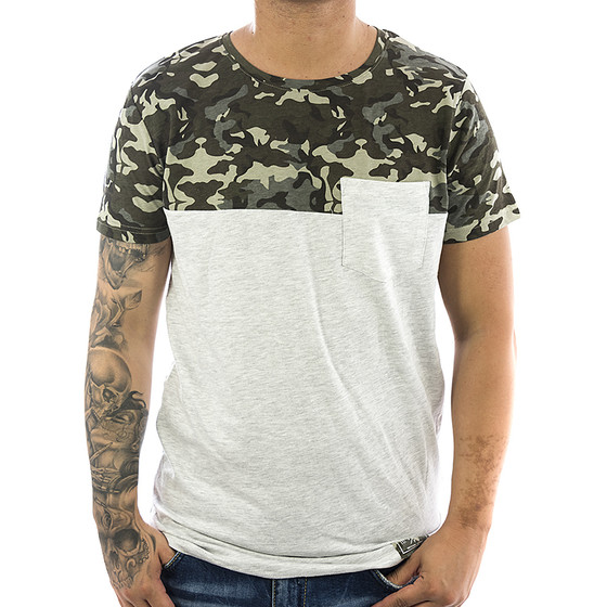 Sublevel T-Shirt Ultimate 20973 pastel grey 1