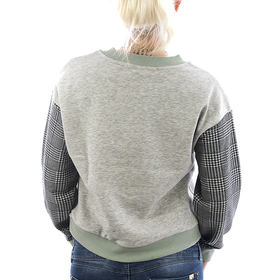 Rock Angel Sweatshirt Helen 1983 light grey 2